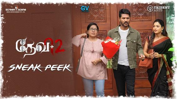 Devi 2 Sneak Peek Videos feat. Prabhu Deva, Tamannaah
