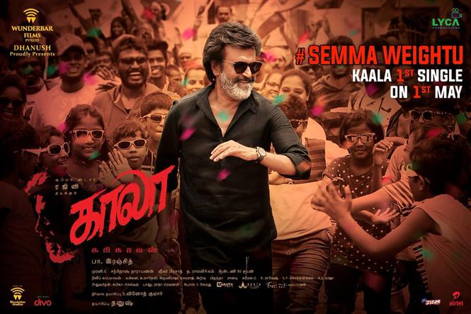 Dhanush to surprise Superstar fans with a single from Kaala