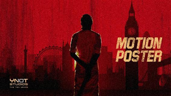 Dhanush's D40 Motion Poster