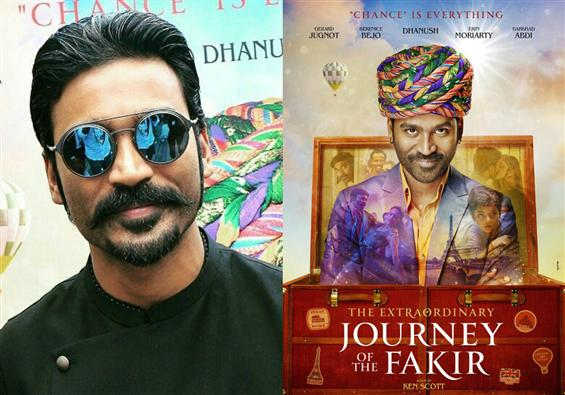 Dhanush's Extraordinary Journey of the Fakir has a...