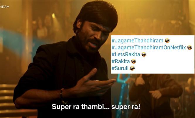 Dhanush's Jagame Thandhiram gets Twitter Emojis!