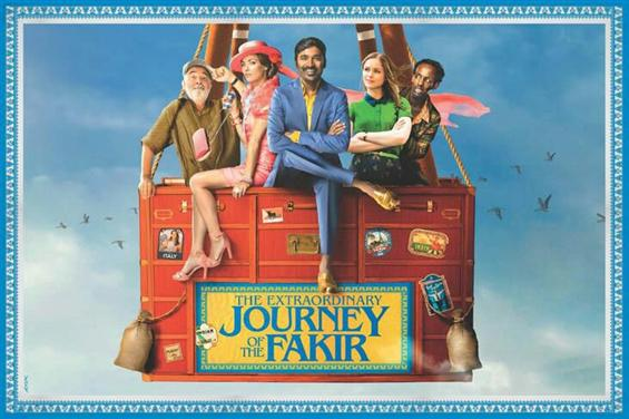 Dhanush's The Extraordinary Journey of The Fakir first look is here