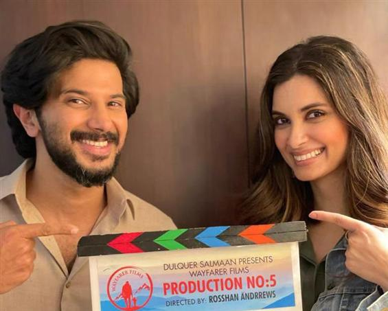 News Image - Diana Penty debuts in Malayalam with Dulquer Salmaan! image