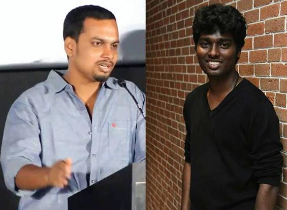 Did director Sinish take a dig at Atlee during the...