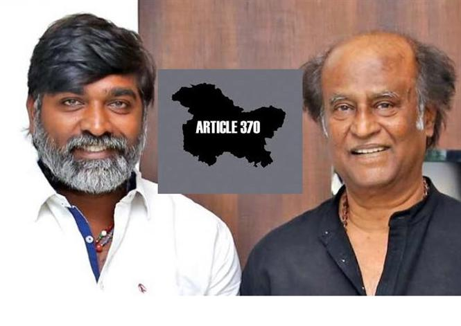 """""""Did not oppose Article 370 scrapping, Only wanted a democratic manner """" : Vijay Sethupathi on Jammu and Kashmir!"""