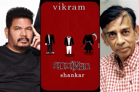 Director Shankar says Anniyan is his script and not Sujata's!