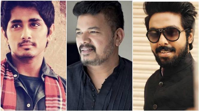 Director Shankar to release Siddharth - G.V. Prakash film's first look tomorrow