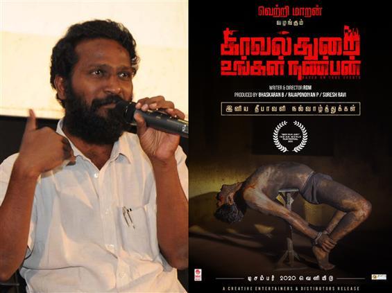 Director Vetrimaaran comes on-board Kavalthurai Ungal Nanban!
