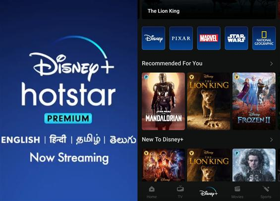 Disney+ now streaming in India with Hotstar Premiu...