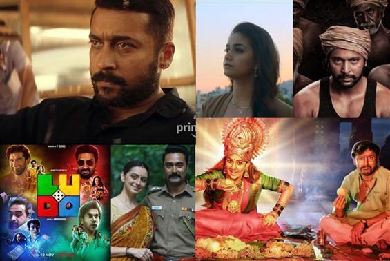Diwali 2020 Movie Releases on OTT & TV!