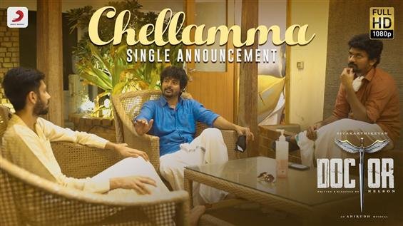 Doctor First Single Chellamma has a Teaser Release...