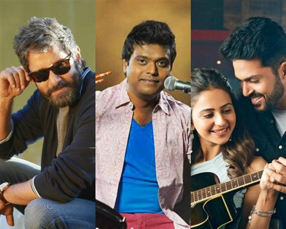 Double Treat for Harris Jayaraj Fans: Dhruvanatchathiram, Dev to have song releases!