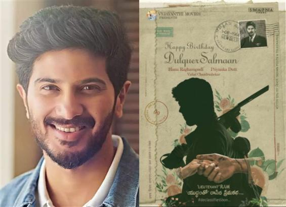 Dulquer Salmaan's second Telugu film gears up for ...