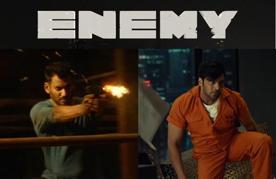 Enemy Teaser starring Vishal, Arya Out Now!