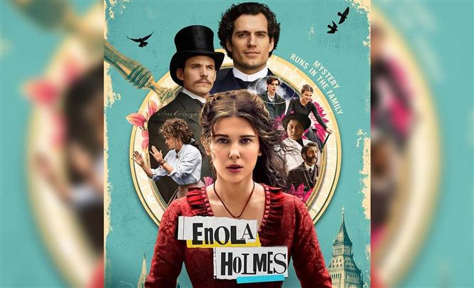 Enola Holmes Review - An enjoyable fun ride with a terrific Millie Bobby Brown at the centre!