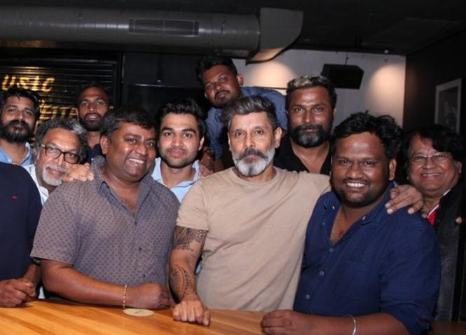 Exciting new update on Vikram's Kadaram Kondan!