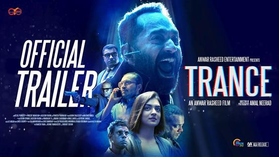 Fahadh Faasil Trance Trailer - Terrific!