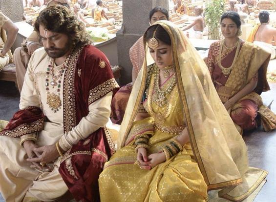 First Look of Chiranjeevi and Nayanthara in Sye Raa Narasimha Reddy