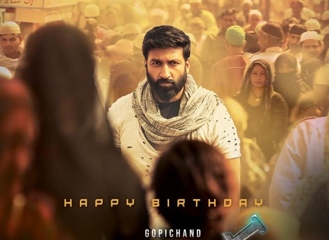 First Look of Gopichand's Chanakya