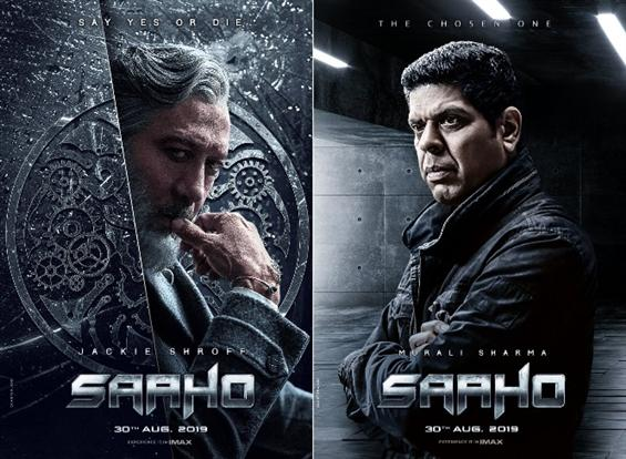 First Look of Jackie Shroff and Murali Sharma from Sahoo