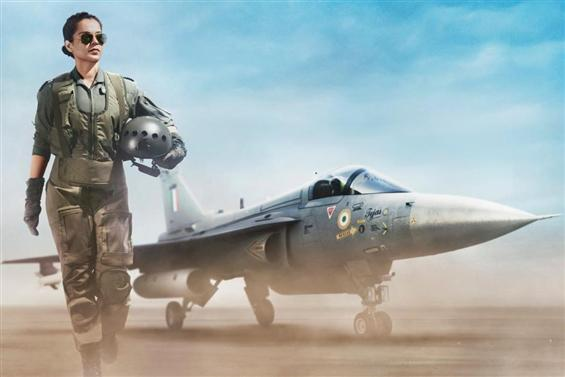 First Look of Kangana Ranaut as IAF Pilot in Tejas