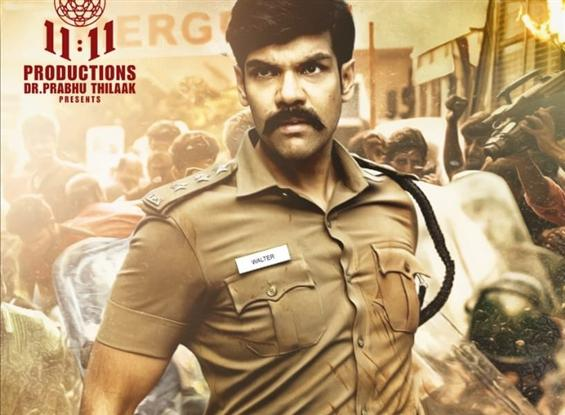 First Look of Sibi Sathyaraj's Walter