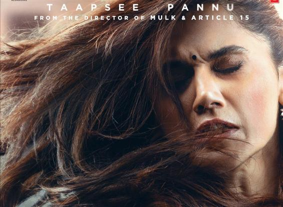 First Look of Taapsee Pannu's Thappad; Trailer out tomorrow