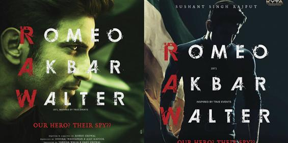 First Look Poster of Sushant Singh Rajput's 'Romeo Akbar Walter'