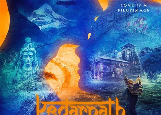 First Look Poster of Sushant Singh Rajuput and Sara Ali Khan starrer 'Kedarnath'