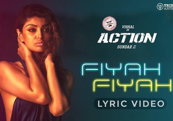 Fiyah Fiyah Lyric Video from Vishal's Action