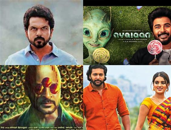 Four New Tamil Movies Gear Up For Trailer Release!