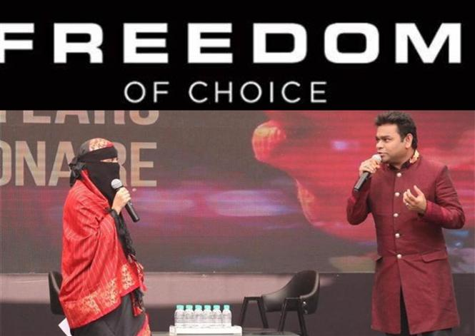 Freedom to Choose: A.R. Rahman & daughter Khatija reply to critics of the latter's Niqab!