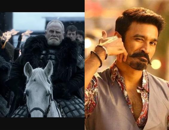 Game of Thrones Star in Dhanush, Karthik Subbaraj's Film!