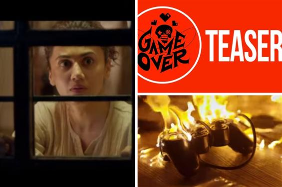 Game Over Teaser: Taapsee as a gamer-in-distress i...