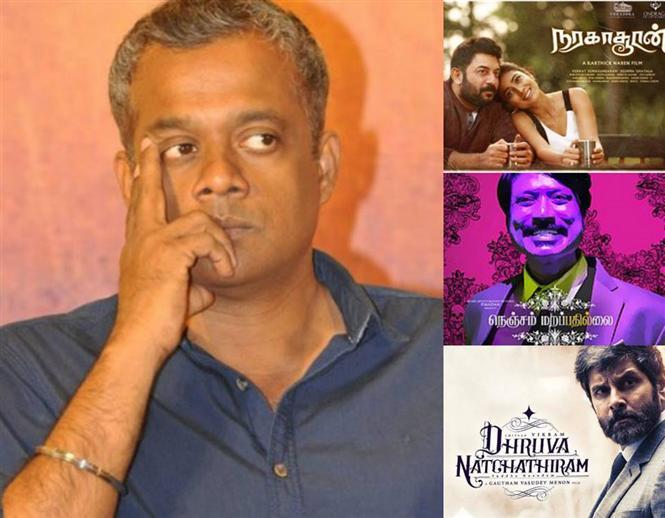 Gautham Menon puts an end to Naragasooran tiff, clears air on Nenjam Marapathillai allegations, updates Dhruva Natchathiram & ENPT film status
