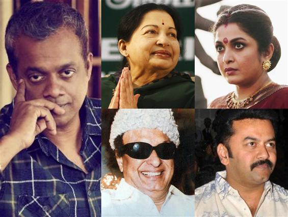 Gautham Menon's web-series on Jayalalithaa titled ...