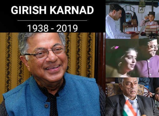 Girish Karnad passes away at 81, Kamal Haasan, Nagma among Film celebs to mourn the loss!