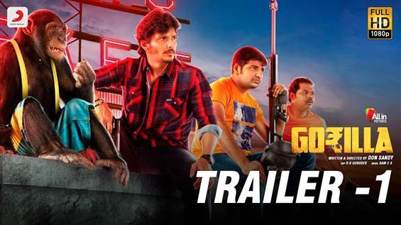 Gorilla Trailer starring Jiiva, Shalini Pandey