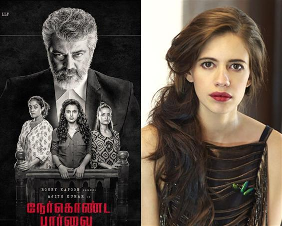 Gully Boy actress Kalki Koechlin in Ajith's Nerkonda Paarvai