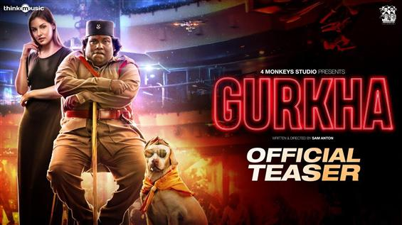 Gurkha Teaser takes a jibe at BJP, Sivakumar & Yogi Babu himself!