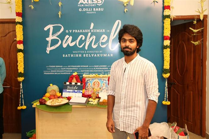 G.V. Prakash's transformation for Bachelor!
