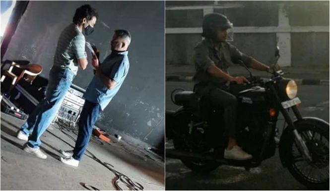 GVM - Suriya wraps up shoot for Navarasa; Here is BTS Stills!