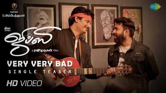 Gypsy First Single Teaser puts Santhosh Narayanan ...