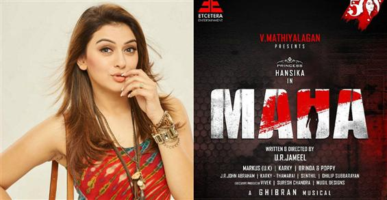 Hansika's 50th film titled Maha