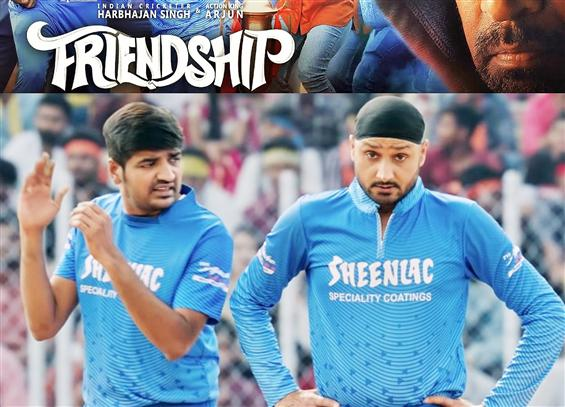 Harbhajan Singh turns action hero in Friendship Te...