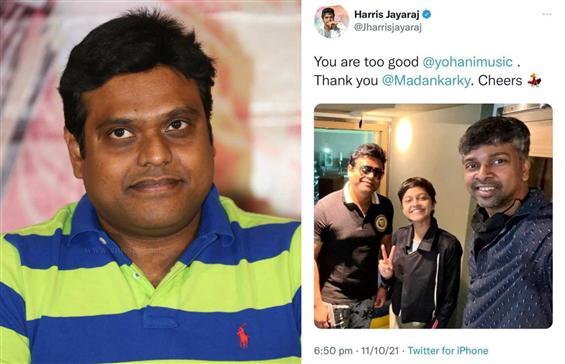 Harris Jayaraj deletes Yohani tweet after Tamil ge...
