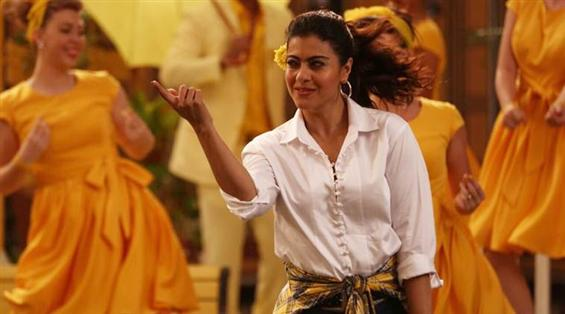 Helicopter Eela: Kajol recreates the iconic Ruk Ruk song from the 90's!