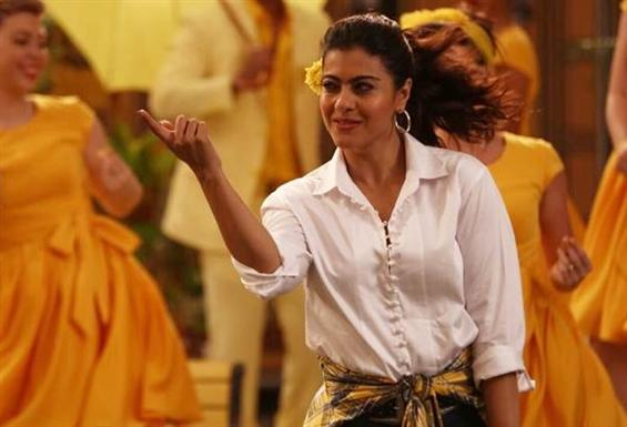 Helicopter Eela: Kajol recreates the iconic Ruk Ru...
