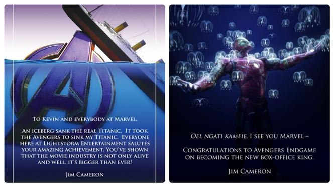 Here is how James Cameron responds to Avengers End Game beating Avatar at Box Office.