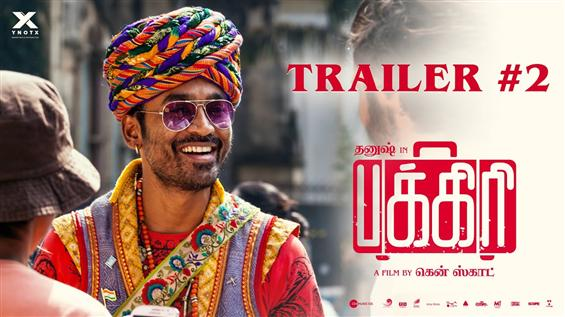 Here is Pakkiri 2nd trailer ft Dhanush